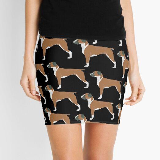 Boxer Dog Mini Skirt