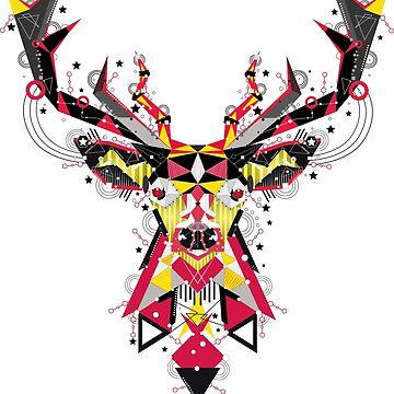 Shape deer by caitdesign