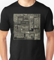 Synthesizer Composition white T-Shirt
