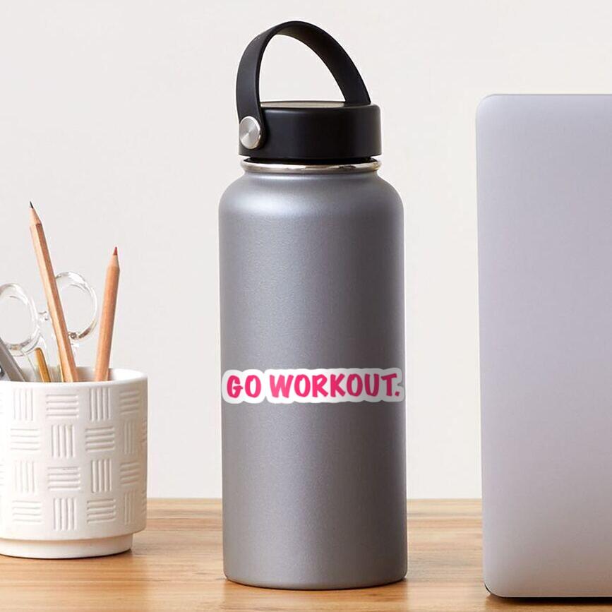 go workout Sticker