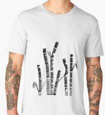 Watercolor Ink Bamboo Men's Premium T-Shirt