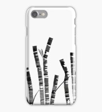 Watercolor Ink Bamboo iPhone Case/Skin