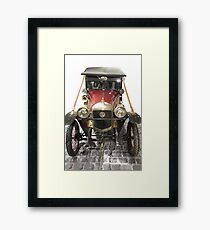 Cobbles cruiser. Framed Print