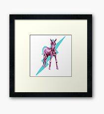 Electric Pony  Framed Print