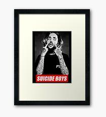 suicide boys Framed Print