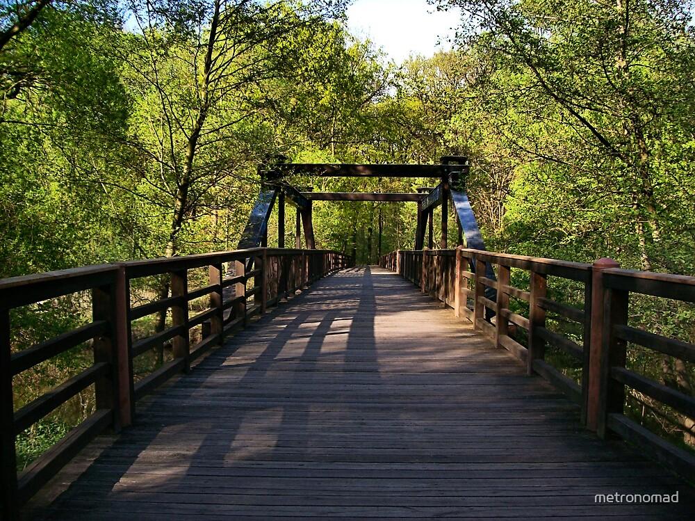 Wooden Bridge by metronomad