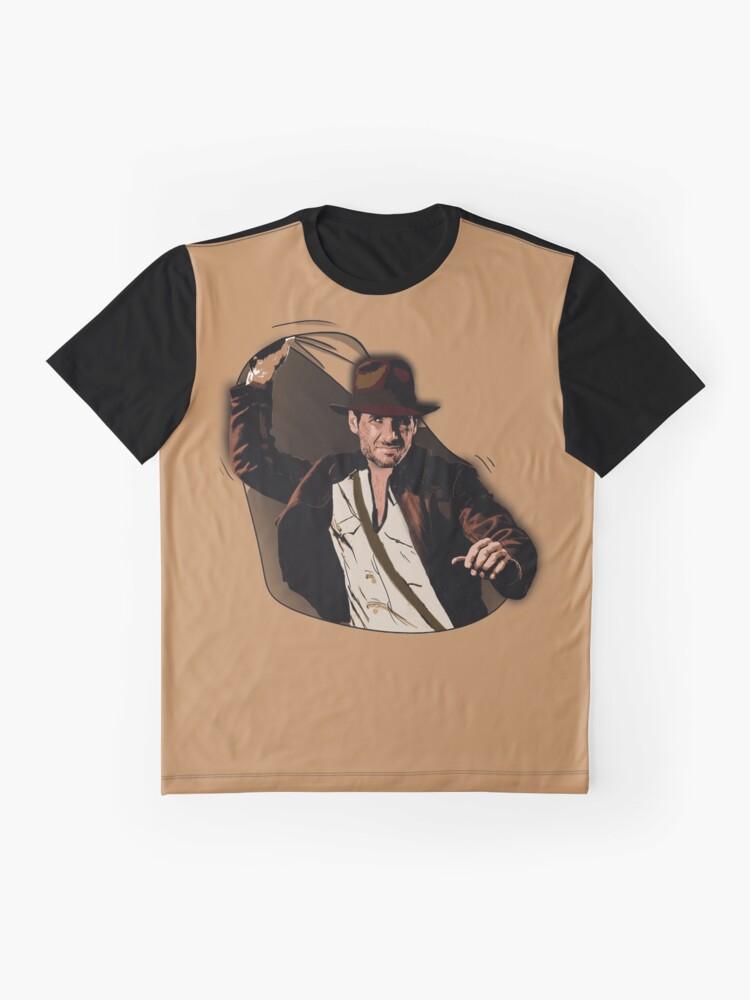 Alternative Ansicht von Dr. Jones Grafik T-Shirt