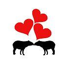 Herzen und Tapire von DelirusFurittus