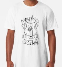 More Vore Less War Long T-Shirt