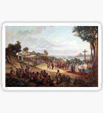 Founding of Rio de Janeiro in 1565 Sticker