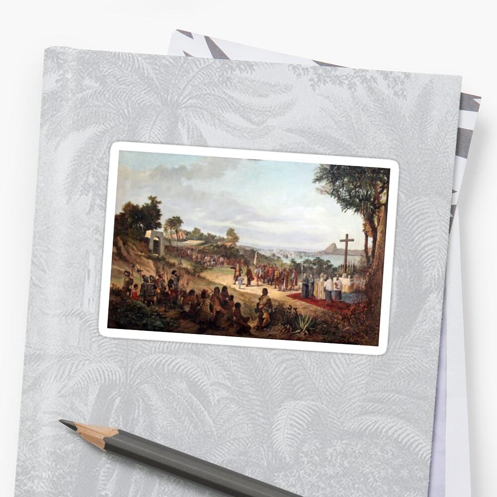 Founding of Rio de Janeiro in 1565 by Tonbbo