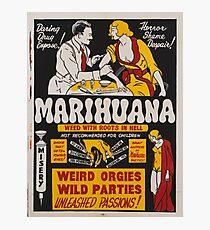 Marihuana Photographic Print