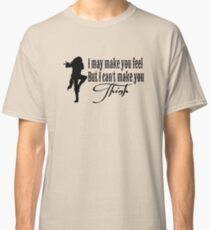 Dick wie ein Ziegelstein Classic T-Shirt