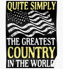THE GREATEST COUNTRY IN THE WORLD Poster