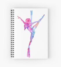 Aerial silks Love Spiral Notebook
