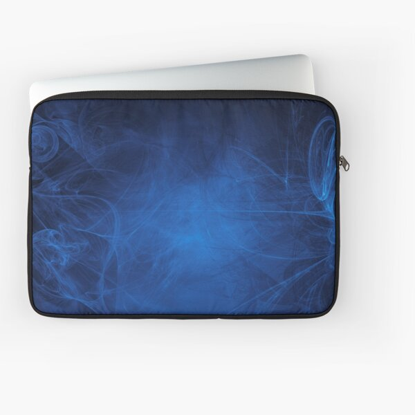 blue alien space dreams composite abstract background Laptop Sleeve
