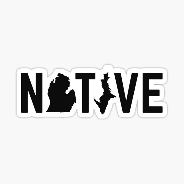 MI NATIVE Sticker