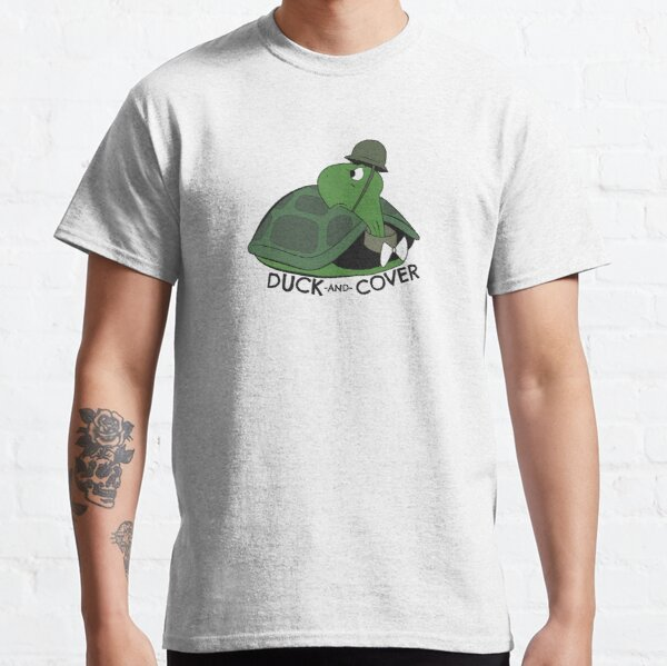 Duck and Cover Bert the Turtle Classic T-Shirt