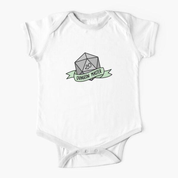 D20 - Dungeon Master Short Sleeve Baby One-Piece