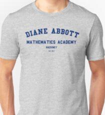 Diane Abbott Mathematics Academy luxury Unisex T-Shirt