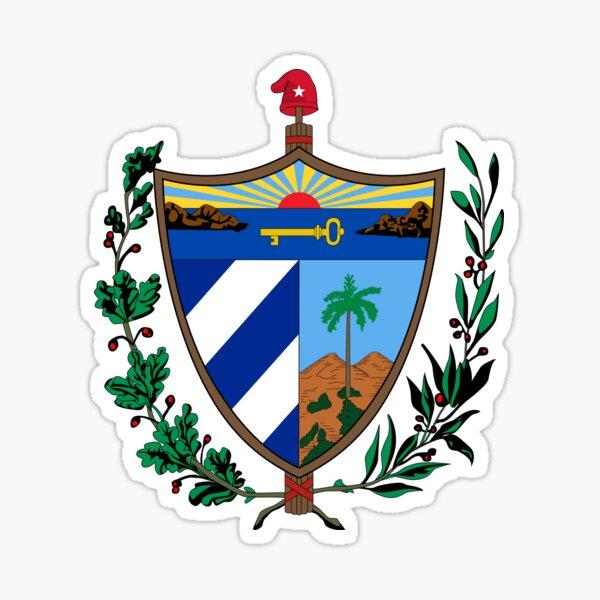 Cuba coat of arms Sticker
