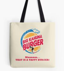 Big Kahuna Burger Tote Bag