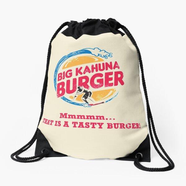 Big Kahuna Burger Drawstring Bag