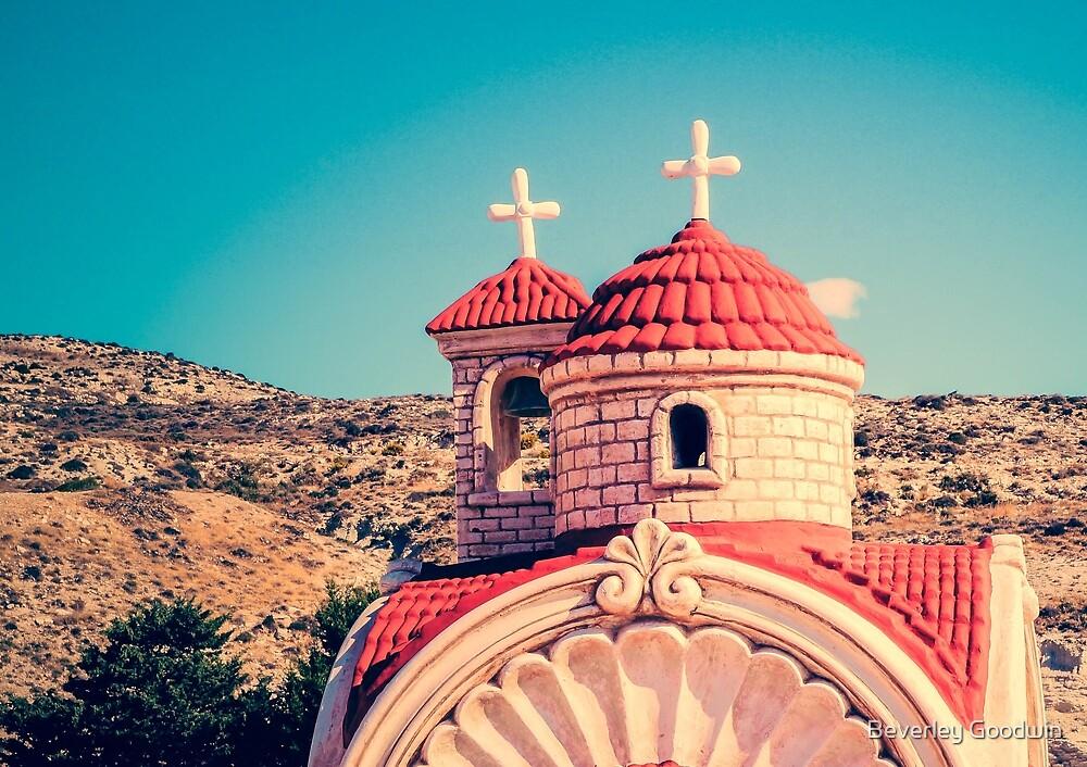 Roadside Shrine, Cyprus by Beverley Goodwin