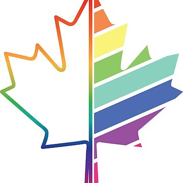 Canadian Pride - LGBTQ by GabJ