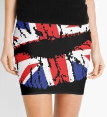 British Lips Mini Skirt