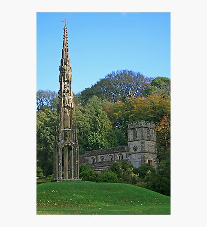 Bristol Cross & St Peter's Photographic Print