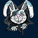 Bad color rabbit by rafo
