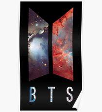 BTS nebula new logo Poster