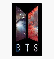 BTS nebula new logo Photographic Print
