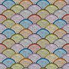 «Mosaic Archs - Bright Night» de miavaldez