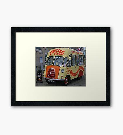 Ice Cream Van Framed Print