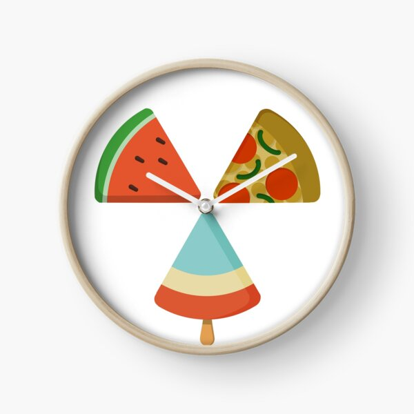 Food Trifecta Clock