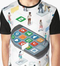 People businessperson marketing communication Graphic T-Shirt