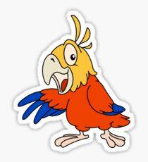Cute Parrot Sticker