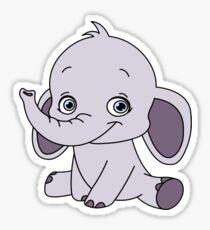 cute elephant  Sticker