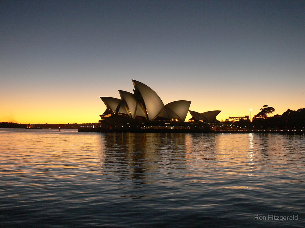 Another View of the Opera House  by Ron Fitzgerald