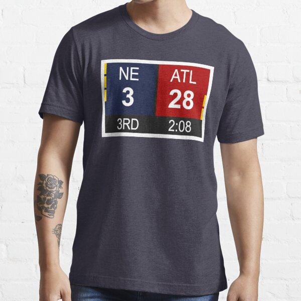 NE 3 vs ATL 28 Champions Comeback Essential T-Shirt