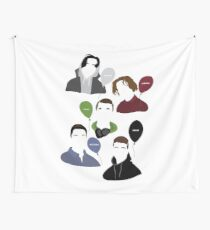 SKAM - The Balloon Squad Wall Tapestry