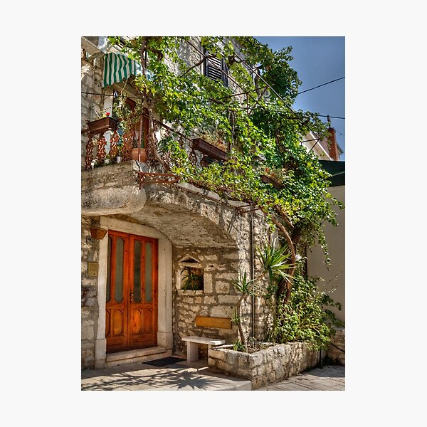 A lovely house Photographic Print