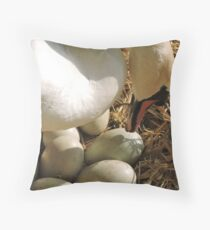 Minerva's Brood Throw Pillow