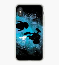 Robots in Space iPhone Case
