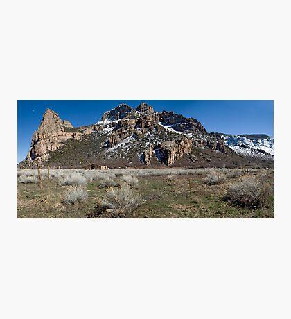Driggs Mansion Ruins, Unaweep Canyon, Colorado Photographic Print