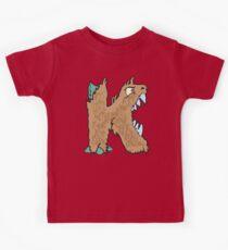 "My Little Monsters Letter ""K"" kids t-shirt Kids Clothes"