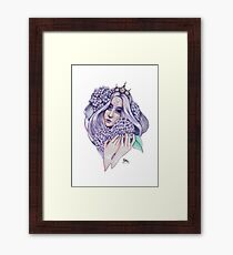 Hydrangea-Fairy Framed Print