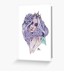 Hydrangea-Fairy Greeting Card
